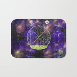 You are the univers in a star Bath Mat