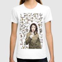 regina mills T-shirts featuring Regina Spektor by Iany Trisuzzi