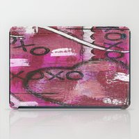 xoxo iPad Cases featuring XOXO by Kimberly McGuiness
