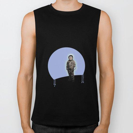 astronaut boy Biker Tank
