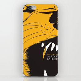 The Wolf of Wall Street | Fan Poster Design iPhone Skin