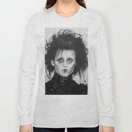 Edward Scissorhands Long Sleeve T-shirt