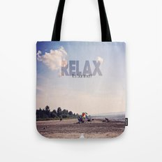 Relax It's Summer Tote Bag