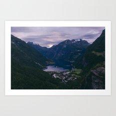 Norway II Art Print