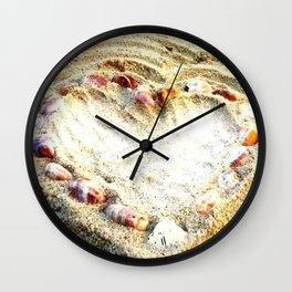 summer love photography  Wall Clock