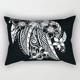 Maui Polynesian Tribal Threads Rectangular Pillow