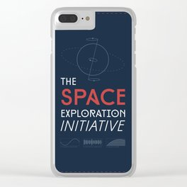The Space Exploration Initiative Clear iPhone Case