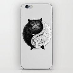 Grumpy Yin Yang iPhone & iPod Skin