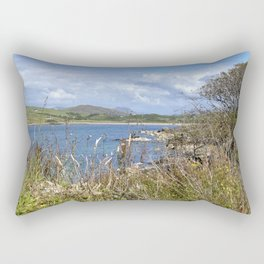 High Island View Rectangular Pillow