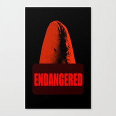 Endangered Whale shark Canvas Print