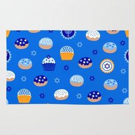 Hanukkah Sweet Treats Rug