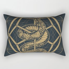 SACRED SERPENT Rectangular Pillow