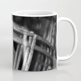 Black and White Facemasks Coffee Mug