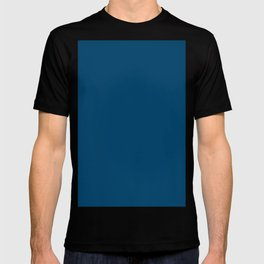 Dark imperial blue T-shirt