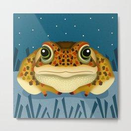 Natterjack Toad Metal Print