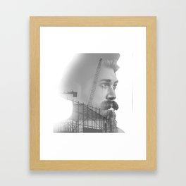 Growing sorrow Framed Art Print