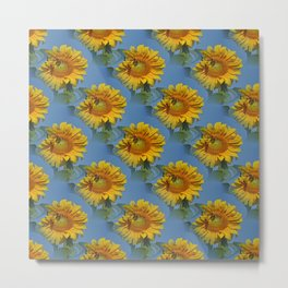 Sunflowers and friends.... Metal Print