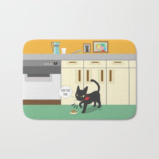 In the kitchen Bath Mat