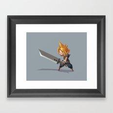 Cloud Strife Framed Art Print
