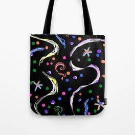 Black-White magic Tote Bag