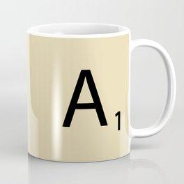 Scrabble Piece A1 Coffee Mug