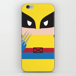 WolverineBlock iPhone Skin