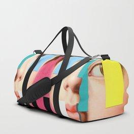 Portrait With A Spectrum 3 Duffle Bag