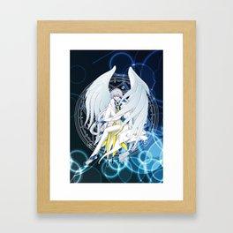 Yue - Card Captor Sakura Framed Art Print