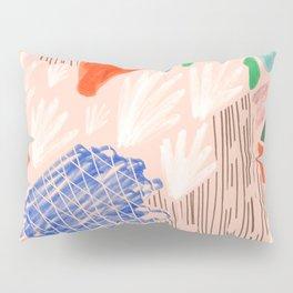 Seeing Spaces - Peach Pillow Sham