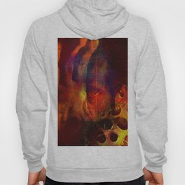beyond the lines   (This Artwork is a collaboration with the talented artist Agostino Lo coco) Hoody