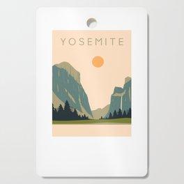 Yosemite Valley Cutting Board