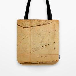 Map of Tripoli 1804 Tote Bag