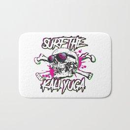 Surfin the kali yuga Bath Mat