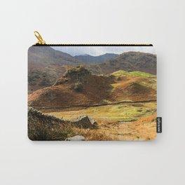 Castle Howe landscape Carry-All Pouch
