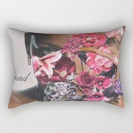 Rihanna Floral Rectangular Pillow