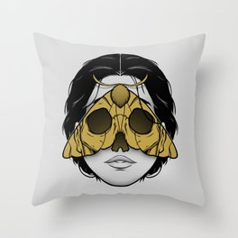 Bad Omen Throw Pillow