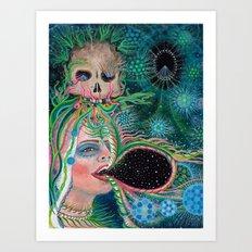 An Open Engagment Art Print