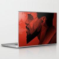 django Laptop & iPad Skins featuring Django Low Poly | Alternative poster by Lorenzo Imperato