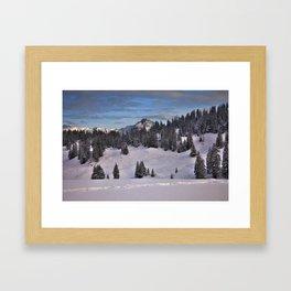 Berner Oberland Framed Art Print