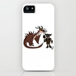 Hungry Hookfang iPhone Case