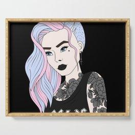 Punk Princess Serving Tray