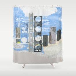 In Between Sea & Sky Shower Curtain