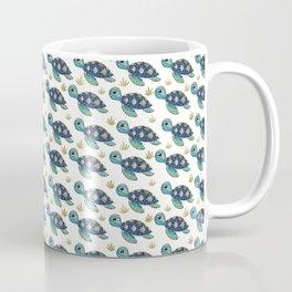 Cute Blue Sea Turtle Coffee Mug