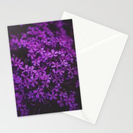 Purple Blossoms Stationery Cards