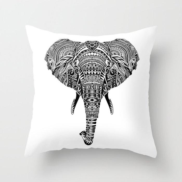 Polynesian Elephant Deko-Kissen