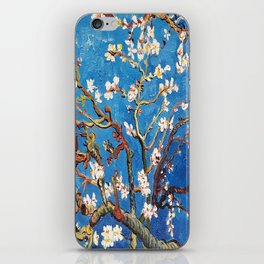 Van Gogh Branches of an Almond Tree in Blossom iPhone Skin