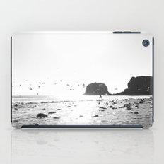 black and white big sur iPad Case