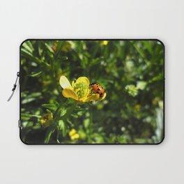 Ladybug crawling around Laptop Sleeve