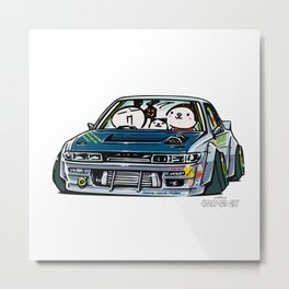Crazy Car Art 0154 Metal Print