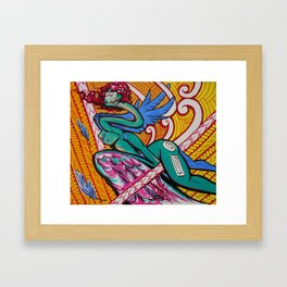 #ElectricPoly Framed Art Print